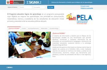 El Sistema de Información y Gestión para la Mejora de los Aprendizajes (SIGMA)
