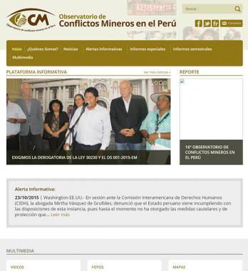 Conflictos Mineros en el Perú